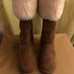 Over the knee Ugg's
